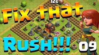 Clash of Clans: Let's FIX THIS RUSH! ep9 - Giants, Iron Fist, and Royal Cloak!!!