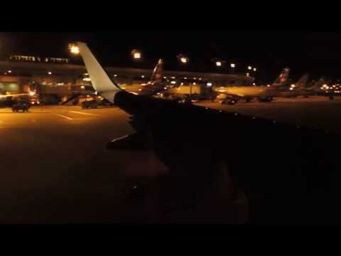 American Airlines Boeing 737-800 [N979NN] push back, taxi, and takeoff from DFW
