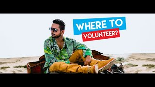 Where to volunteer?   Saeen Vlog