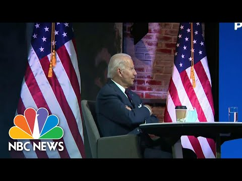 Biden Transition Team Meets With National Security Advisers | NBC Nightly News