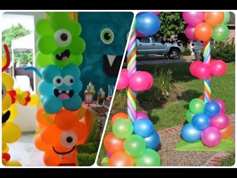 La mejor decoracion con globos para cumplea os infantiles - Decoracion cumpleanos para ninos ...
