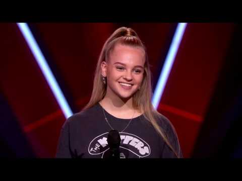 Kes - Breathin The blind auditions the voice Netherlands (with commentary) | Ariana Grande