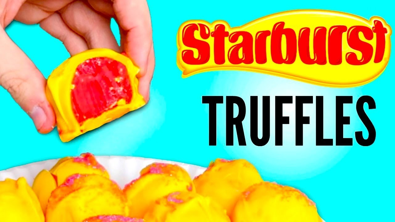 STARBURST CHOCOLATE CANDY TRUFFLES DIY | How To