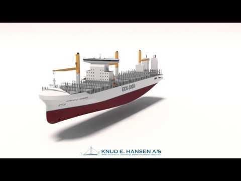 ECV-3800 Container Feeder KNUD E. HANSEN