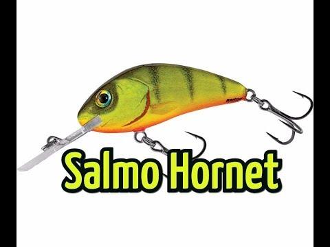 Воблер Salmo Hornet. Лучший воблер для троллинга