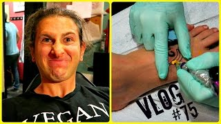 "I GOT A ""CARB THE FUCK UP"" TATTOO! 