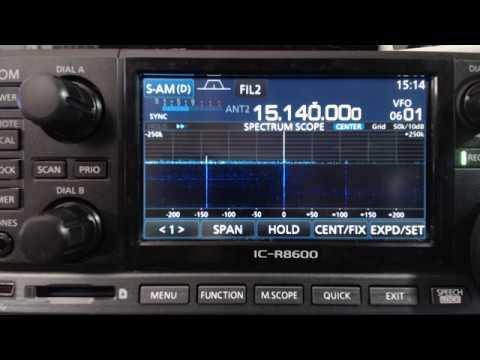 Radio Havana Cuba DXers Unlimited August 6 2017 on 15140Khz Shortwave Radio R8600