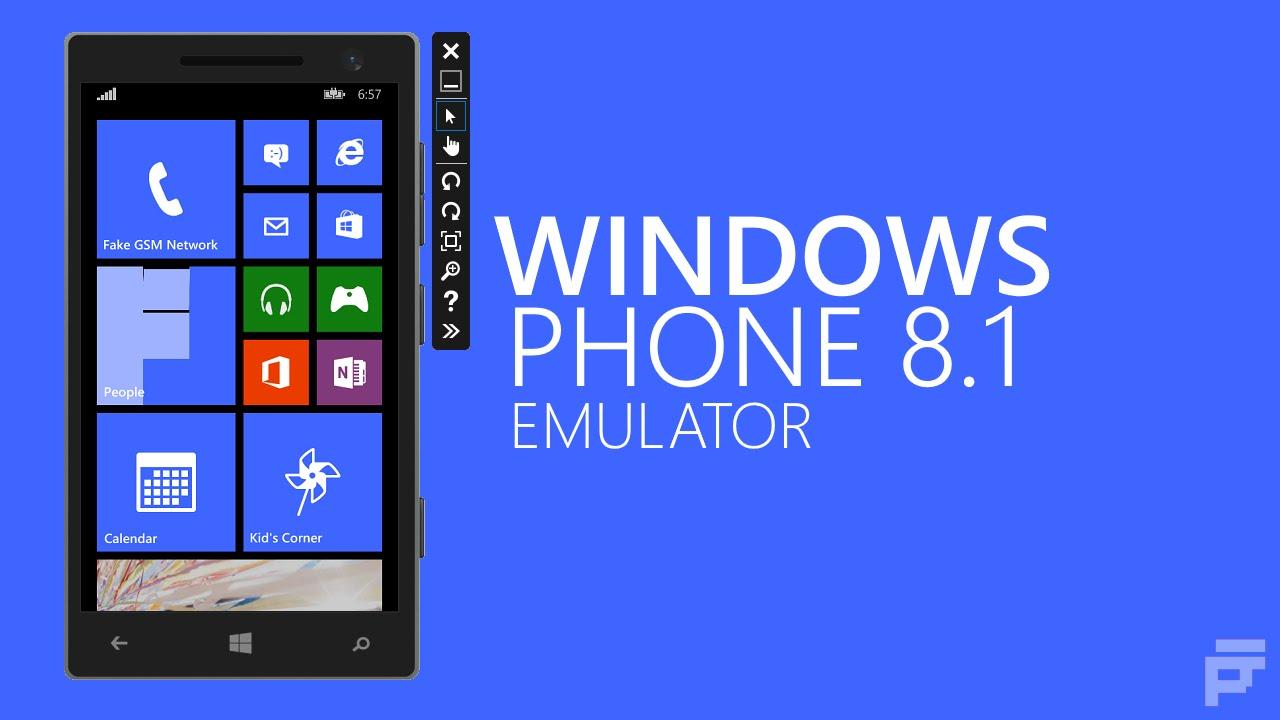 windows phone emulator for pc