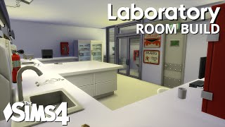 The Sims 4 Room Build - Laboratory