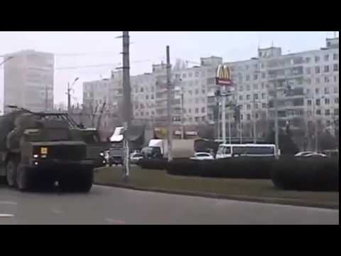 Ukrainian anti air defense system S 300 in Odessa today