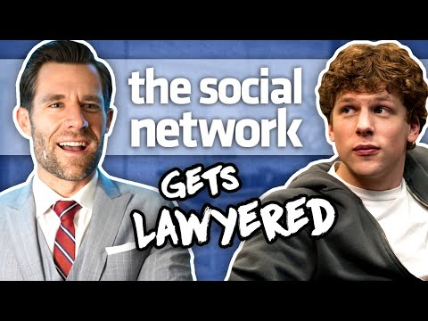 Real Lawyer Reacts to The Social Network (Full Movie) // LegalEagle