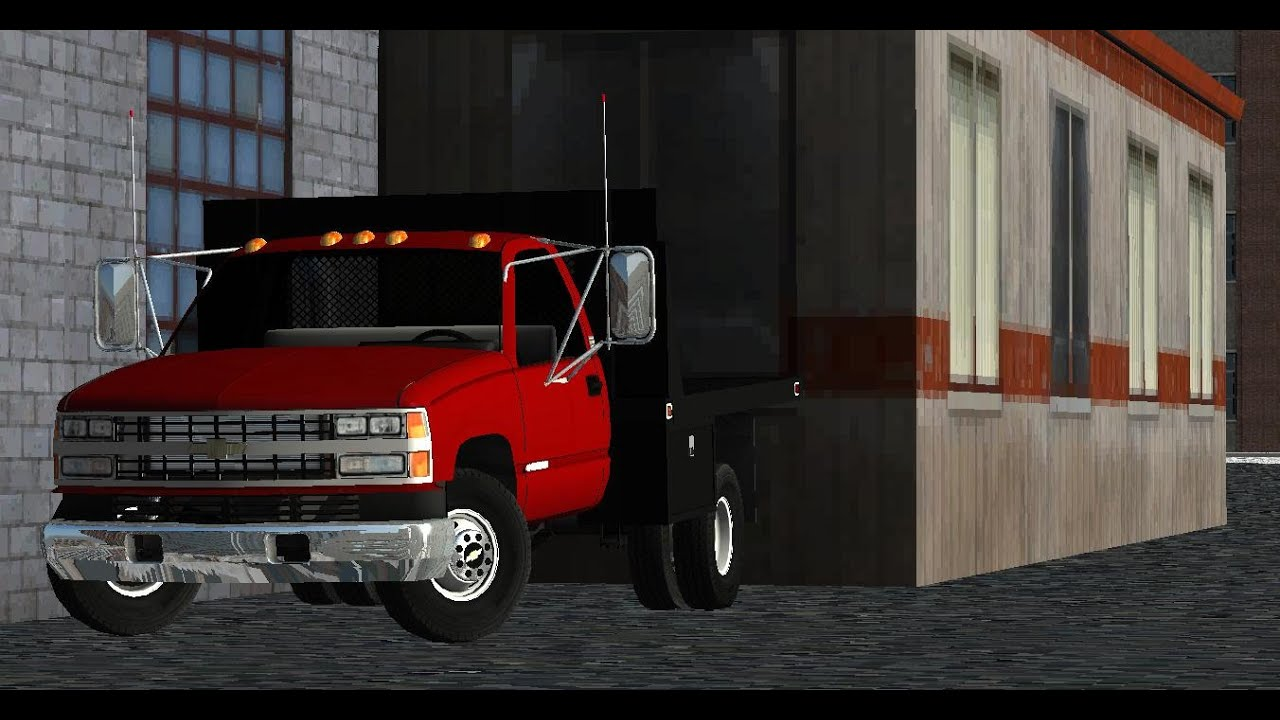 Chevy Work Truck >> Rigs of Rods | '88 Chevy Work truck Burnout! | 350 V8! | Quadrajet - YouTube
