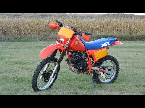1984 XR250R First Ride out of Retirement