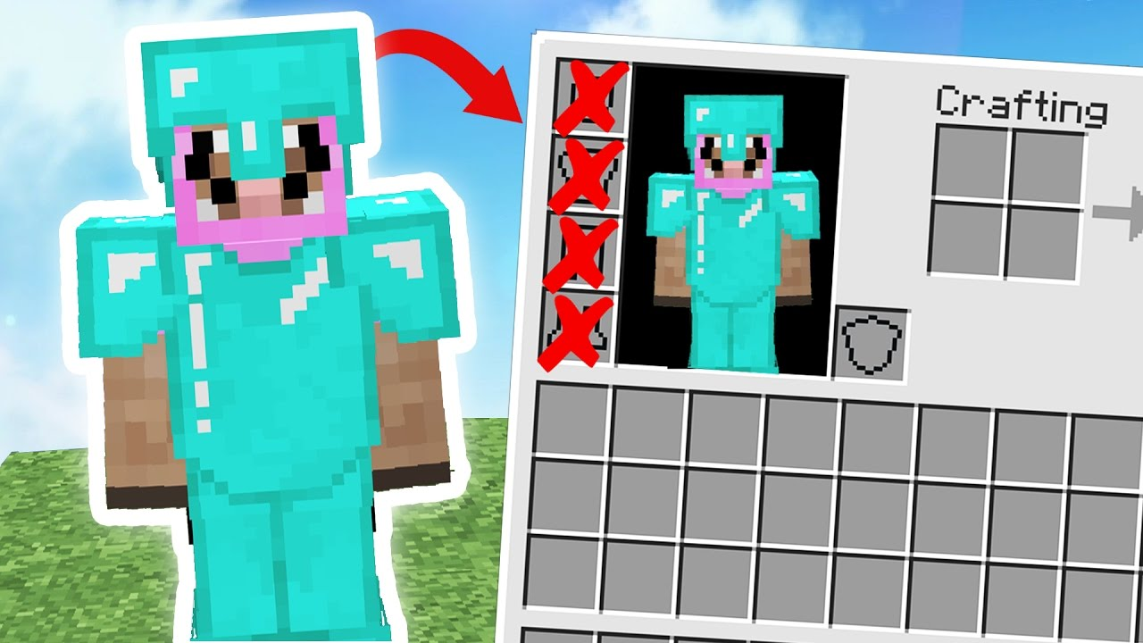 DOES FAKE DIAMOND ARMOR CHALLENGE REALLY WORK? Minecraft ...