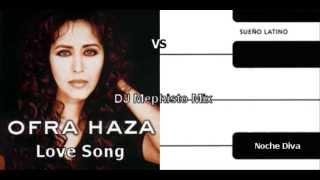 Ofra Haza vs Noche Diva - Love Song from Noche Diva