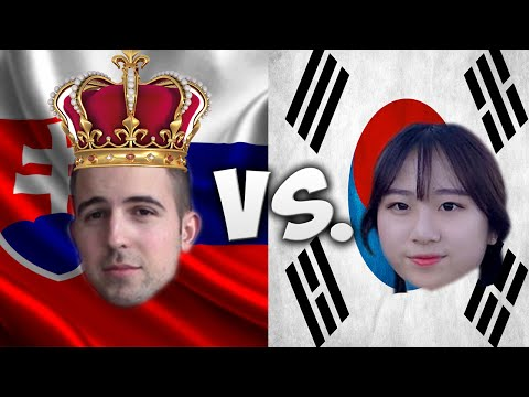 LANGUAGE CHALLENGE: SLOVAKIA VS. SOUTH KOREA PART 1/2 /W KAILEY