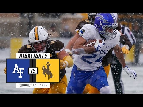 Air Force vs. Wyoming Football Highlights (2018) | Stadium