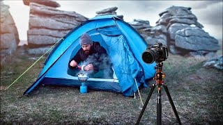 HIKING & WILD CAMPING PHOTOGRAPHY on Dartmoor (with K&F Concept) 4K