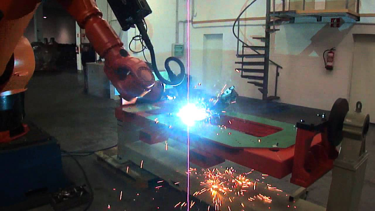 Kuka Arc Welding Robot Fronius Tps4000 Synergic Co2