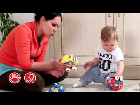 °☆╮Ki Ki 玩具精品屋╭☆° Ks Kids 奇智奇思 Pull-Back Autos 趣味迴力車組