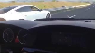 Audi a7 3.0  TDI biturbo quattro vs bmw 535d chiptuning