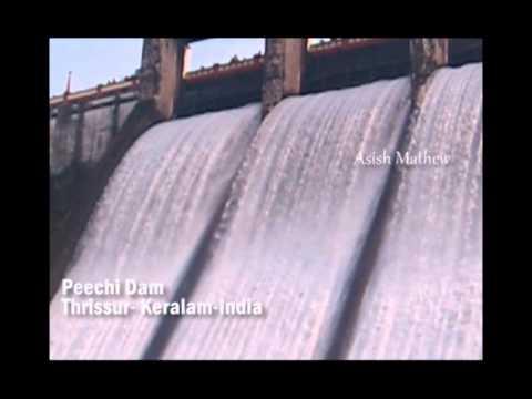 Peechi Dam shutters opening - A rare view