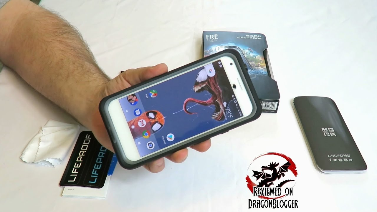 hot sale online d9744 b334b Fitting the LifeProof FRĒ Case on the Google Pixel XL Smartphone