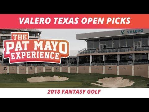 Fantasy Golf Picks - 2018 Valero Texas open Picks, Sleepers and Rankings