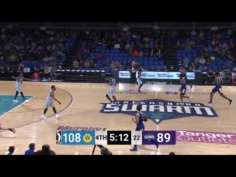 Damian Jones Posts 14 points & 10 rebounds vs. Greensboro Swarm