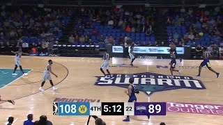 Damian Jones Posts 14 points & 10 rebounds vs. Greensboro Swarm