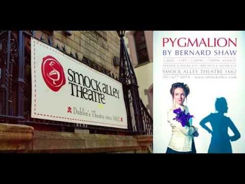 Director Liam Halligan talks Pygmalion @ Smock Alley theatre in Dublin!