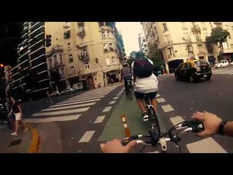 Discovering Recoleta by bike! Argentina