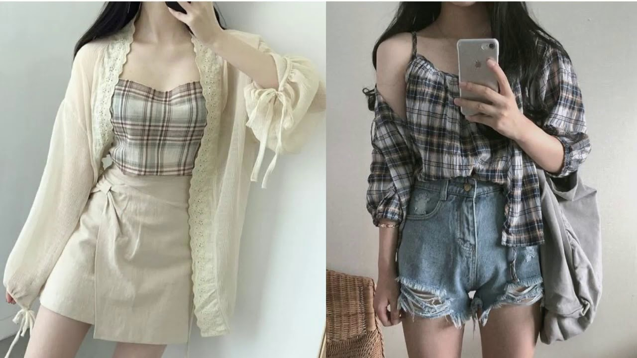 [VIDEO] - KOREAN FASHION OUTFITS ♡ Moda Coreana Primavera Verano ♡ Tumblr Lookbook 1