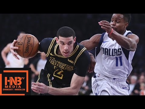 Los Angeles Lakers vs Dallas Mavericks Full Game Highlights / Feb 23 / 2017-18 NBA Season
