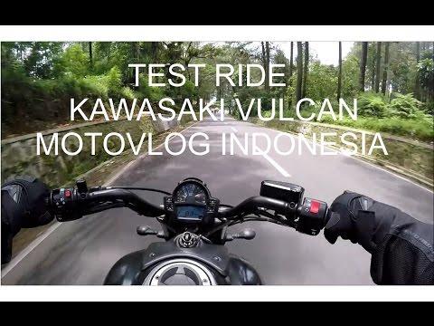 #6 TEST RIDE KAWASAKI VULCAN - MOTOVLOG INDONESIA