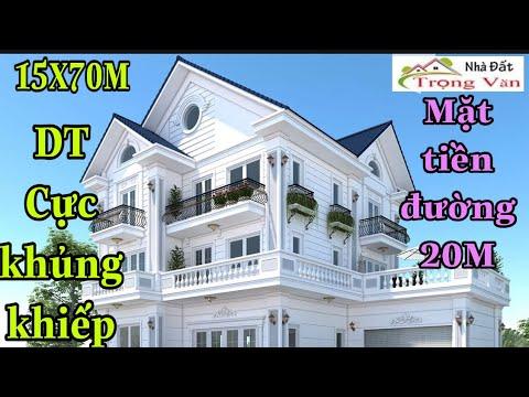 Bán nhà quận 12 TP.HCM[34] Biệt thự vườn diện tích khủng khiếp 15x70M mặt tiền đường 20m giá rẻ.