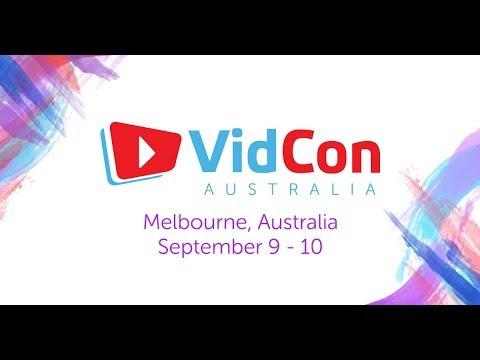 Vidcon Australia Sponsors Advertisement 2017