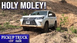 Check Out These Cameras! 2019 Lexus LX 570 Off-Road, On-Road Review