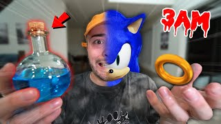(SCARY) ORDERING SONIC.EXE POTION FROM THE DARK WEB AT 3AM!! *TURNED BLUE*