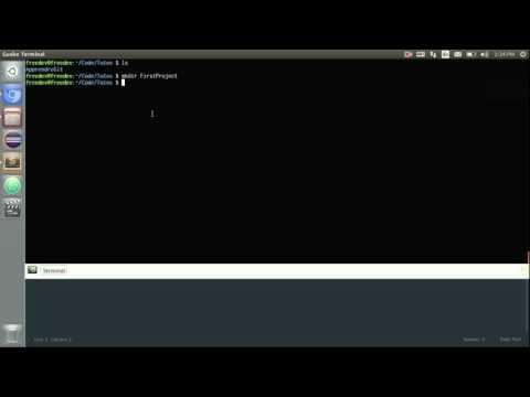 Apprendre à utiliser Git (Github, Bitbucket) - 2 - Créer un dépôt Git et faire son premier commit