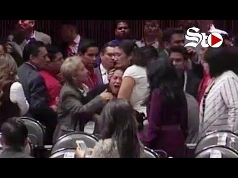 Suspenden sesión por asesinato de hija de diputada de Morena
