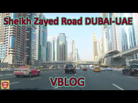 Sheikh Zayed Road, Dubai UAE
