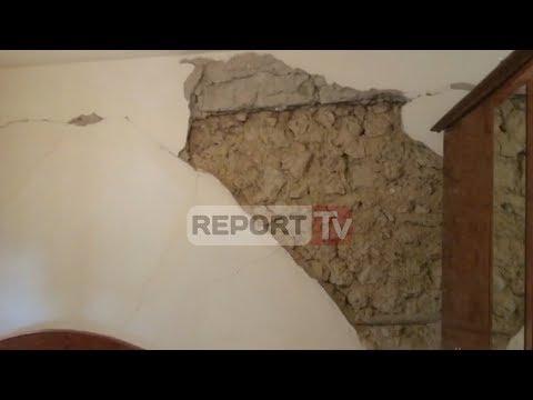 Report TV - 14 tërmete tronditin Vlorën, pasoja të rënda në shtëpitë e banorëve