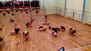 Открытый урок. Эстрадный танец и актерское мастерство. 26.04.2018