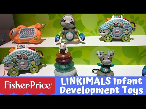 New! Fisher Price LINKIMALS Infant Development Toys - New York Toy Fair 2019