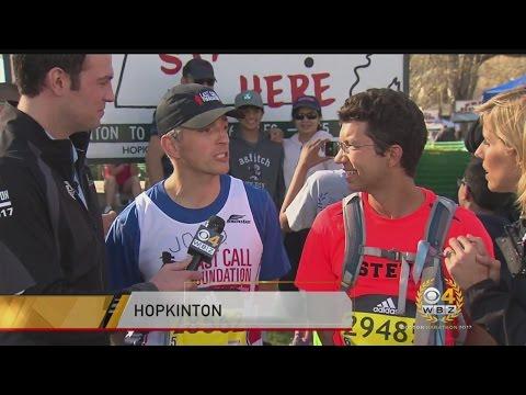 Last Call Foundation Members Running Double Marathon