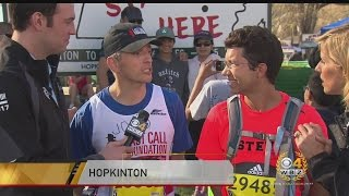 Last Call Foundation Members Running Double Marathon