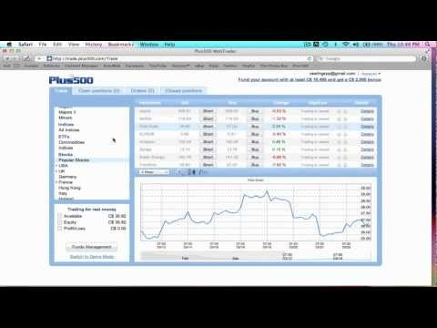 Watch Me Make Money Live with Plus500 Platform