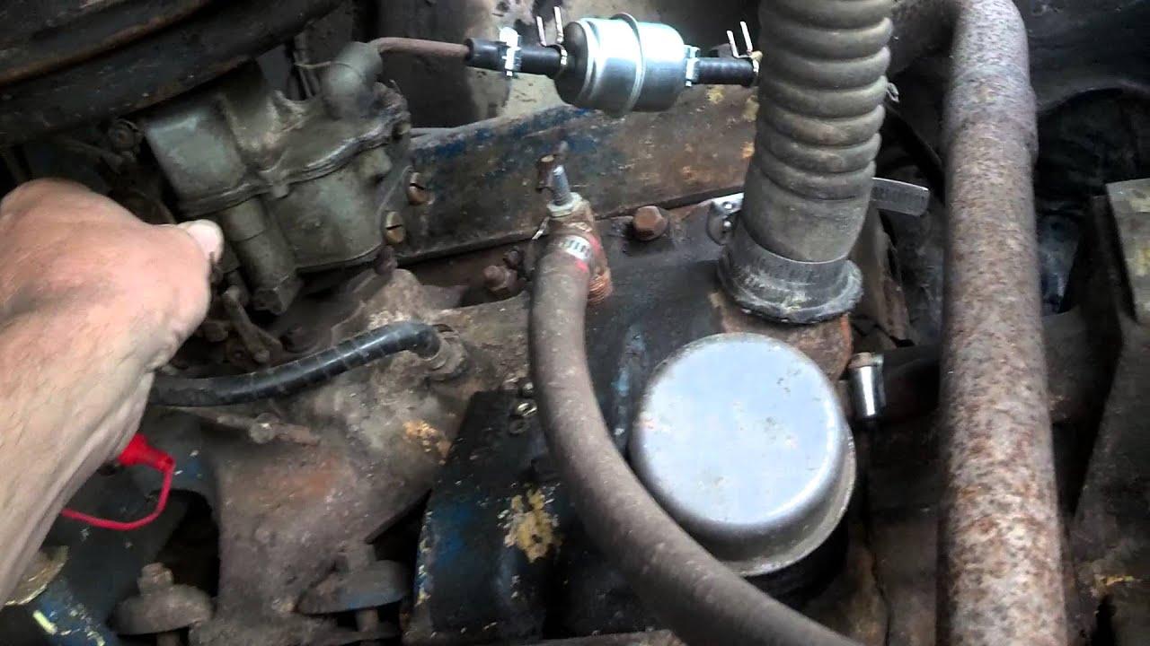 239 Y Block Diagram Automotive Wiring 272 Ford Engine 1955 Running Again Youtube Rh Com