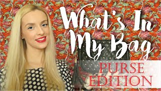 What's In My Bag. Purse Edition | Mandaryna